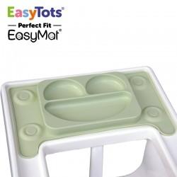 EasyTots - IKEA Perfect Fit EasyMat OLIVE talerzyk silikonowy z podkładką