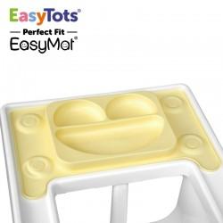 EasyTots - IKEA Perfect Fit EasyMat BUTTER talerzyk silikonowy z podkładką