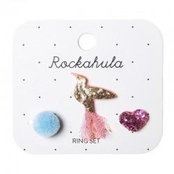 Rockahula Kids - 3 pierścionki Koliberek