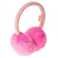Rockahula Kids - nauszniki Two Tone Knit Candy Pink