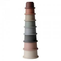 Mushie - Wieża z kubeczków Stacking Tower CLASSIC