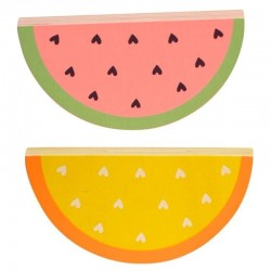A Little Lovely Company - klocki Arbuz i Pomarańcza