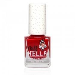 MISS NELLA - Bezzapachowy lakier do paznokci dla dzieci PEEL OFF Strawberry'n'Cream
