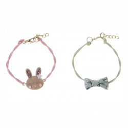 Rockahula Kids - 2 bransoletki Rosie Rabbit