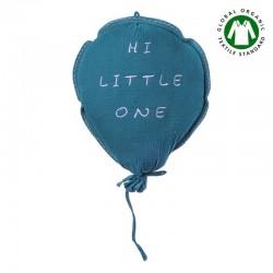 Hi Little One - Kokon gniazdko dla Noworodka z organicznego oddychającego BIO muślinu GOTS NEWBORN NEST WHITE