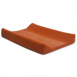 Jollein - pokrowiec na przewijak Brick Velvet 50 x 70 cm Rust