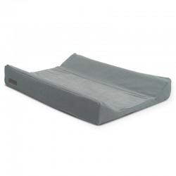 Jollein - Pokrowiec na przewijak Brick Velvet 50 x 70 cm Storm Grey