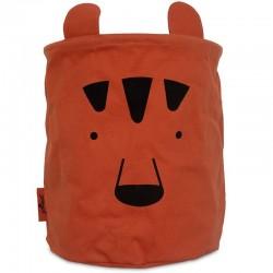 Jollein - Pojemnik kosz na zabawki Basket Animal Club Rust