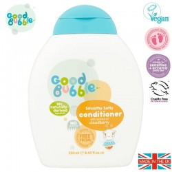 Good Bubble Wegańska organiczna odżywka do włosów Noworodka i Niemowlaka Cloudberry 250 ml