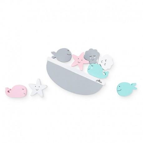 Jollein - Gra zręcznościowa Sea Animals Balansujące Zwierzęta Morskie