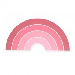 Jollein - Lampa ścienna Rainbow Blush Pink