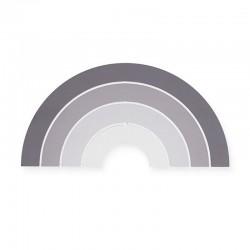Jollein - Lampa ścienna Rainbow Grey