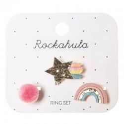 Rockahula Kids - 3 pierścionki Wish Upon A Star