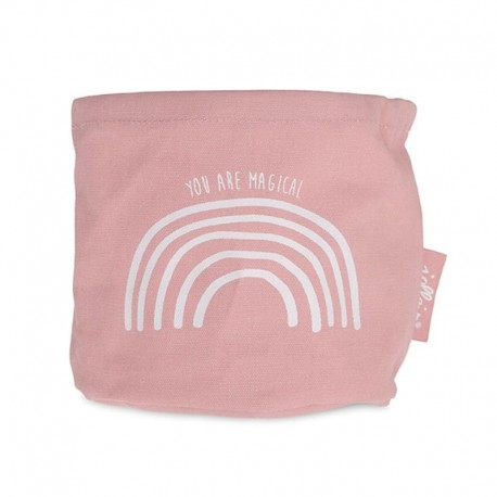 Jollein - Organizer na pieluszki Tęcza Rainbow Blush Pink