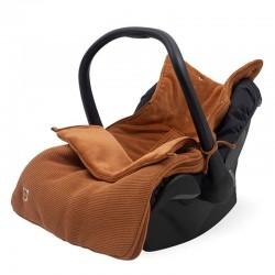 Jollein - Śpiworek oddychający do wózka i fotelika Basic Knit CARAMEL