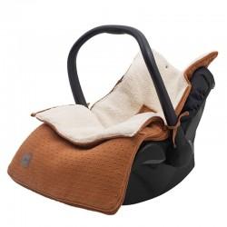 Jollein - Śpiworek oddychający do wózka i fotelika Bliss Knit CARAMEL