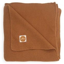 Jollein - Kocyk tkany 75 x 100 cm Basic Knit TOG 1.0 CARAMEL