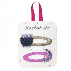 Rockahula Kids - spinki do włosów Hubble Bubble Clips Halloween