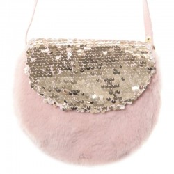 Rockahula Kids - torebka Shimmer Sequin Fur Bag