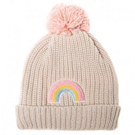 Rockahula Kids - czapka Dreamy Rainbow Knit Bobble 7-10 lat