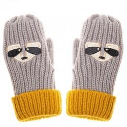 Rockahula Kids - rękawiczki zimowe Ronnie Racoon 7 - 10 lat