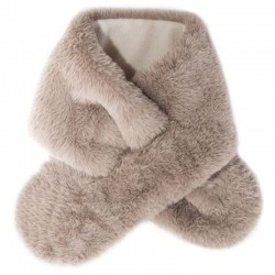 Rockahula Kids - szalik zimowy futerko Teddy Fur Brown