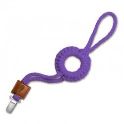 Hi Little One - sznurkowa zawieszka z kółkiem do smoczka Pacifier holder with RING Mint