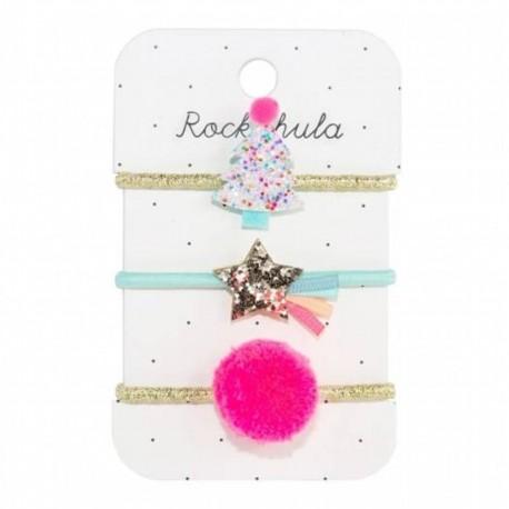 Rockahula Kids - gumki do włosów Tutti Frutti Xmas Tree