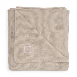 Jollein - Kocyk tkany 75 x 100 cm Basic Knit TOG 1.0 NOUGAT