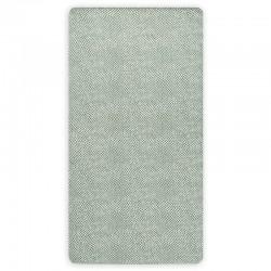 Jollein - Prześcieradło do łóżeczka 60 x 120 cm SNAKE ASH GREEN