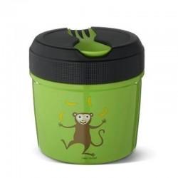 Carl Oscar TEMP Lunch Jar - Termos ze szlachetnej stali nierdzewnej 0,5 L Lime - Monkey