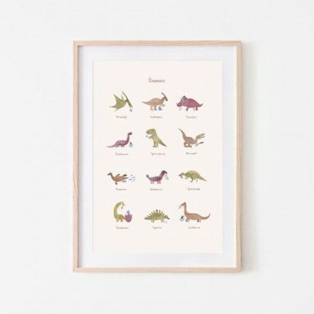 Mushie - Plakat Dinosaurs Medium