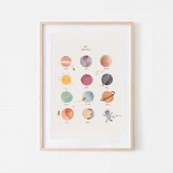 Mushie - Plakat Planety Medium