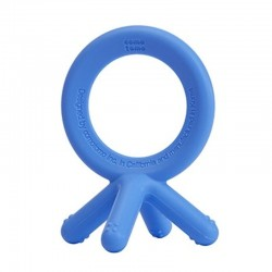 COMOTOMO - Gryzak silikonowy 4D BLUE