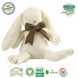 Maud N Lil Przytulanka pocieszyciel z organicznej BIO bawełny GOTS Ears the Bunny Soft