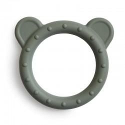 Mushie - Gryzak silikonowy bransoletka BEAR Dried Thyme