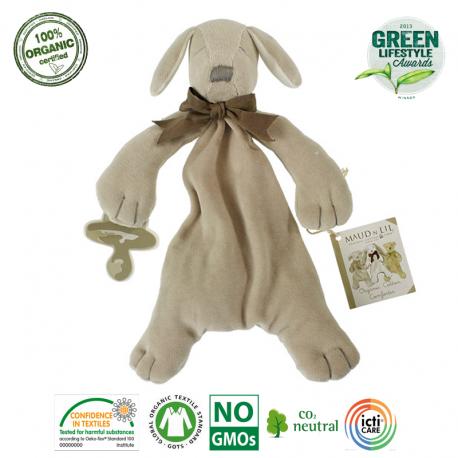 Maud N Lil Paws The Puppy Comforter Organiczny Mięciutki Pocieszyciel