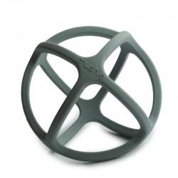 Mushie - Gryzak sensoryczny 3D silikonowy BALL Dried Thyme
