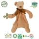 Maud N Lil Opiekun smoczka z organicznej BIO bawełny GOTS Cubby The Teddy Comforter 2in1