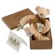 Maud N Lil Cubby The Teddy Comforter Organiczny Mięciutki Pocieszyciel w pudełeczku
