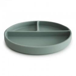 Mushie - talerzyk silikonowy Cambrige Blue