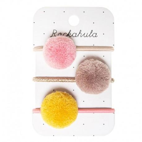 Rockahula Kids - gumki do włosów Blossom Pom Pom