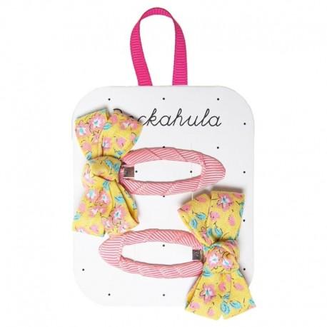 Rockahula Kids - spinki do włosów Blossom Twisty Bow