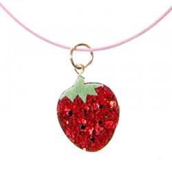 Rockahula Kids - naszyjnik Sweet Strawberry