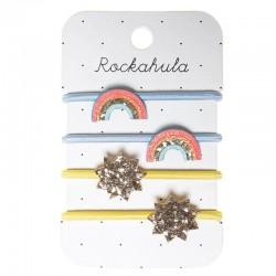 Rockahula Kids - gumki do włosów Rainbow Bright