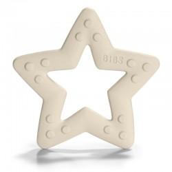 BIBS Baby Bitie STAR Ivory gryzak dla niemowlaka