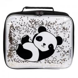 A Little Lovely Company - TERMO lunchbox GLITTER Panda
