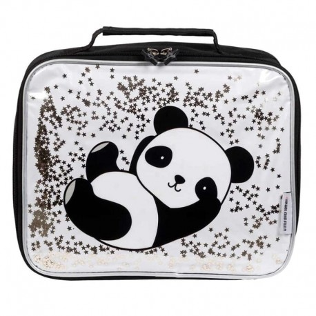 A Little Lovely Company - TERMO lunchbox GLITTER Panda