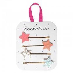 Rockahula Kids - 4 wsuwki do włosów Sparkle Star