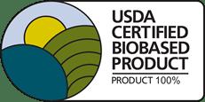 Produkt z certyfikatem USDA potwierdzającym 100% roślinne pochodzenie